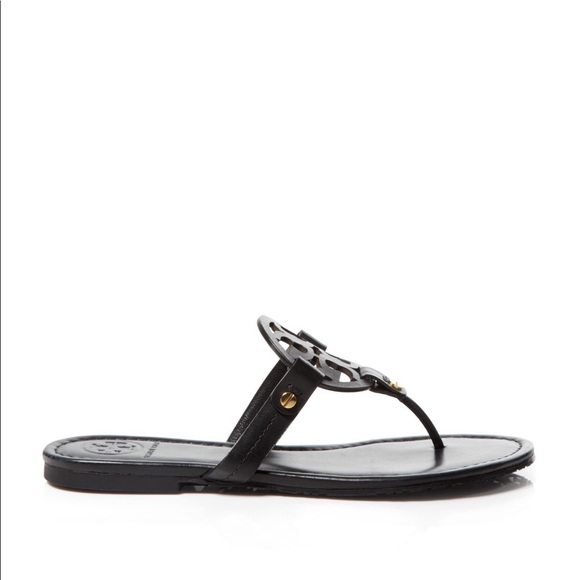 00c2605f13f41a Tory Burch Women s Miller Leather Thong Sandals